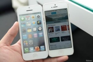 Hình ảnh được cho là của iPhone 5S và iPhone 5C