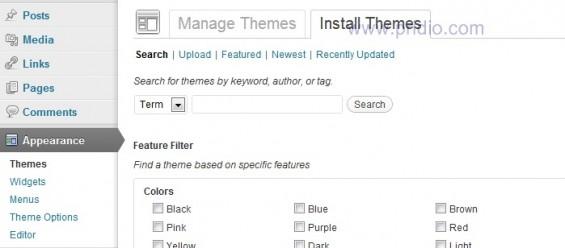 Install them wordpress