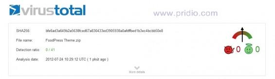 kiểm tra virus wordpress an toàn