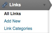 managing links