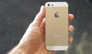 iPhone 5S màu vàng khan hàng một cách kỳ lạ