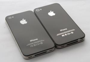 Phân biệt iPhone 4 và iPhone 4S thông qua vỏ máy ở bên ngoài